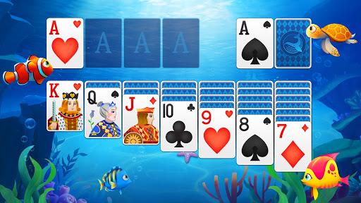 Solitaire Fish - Classic Klondike Card Game  screenshots 2