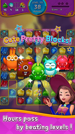 Jewel Witch - Best Funny Three Match Puzzle Game 1.8.2 screenshots 7