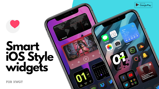 Smart iOS Style widgets (MOD, Paid) v6.1 3