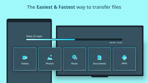 TV file transfer apktram screenshots 4