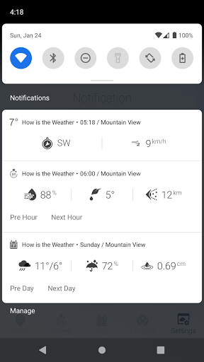 How is the Weather - Different, Simple & No Ads v17_24.01 Screenshots 8