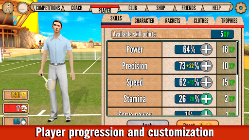 World of Tennis: Roaring u201920s u2014 online sports game  screenshots 3