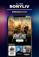 screenshot of SonyLIV: Originals, Hollywood, LIVE Sport, TV Show