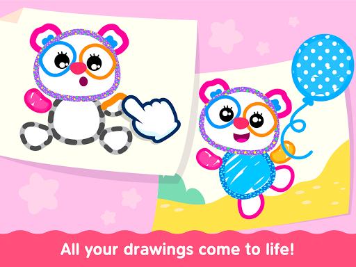 Bini Toddler Drawing Apps! Coloring Games for Kids apktram screenshots 11