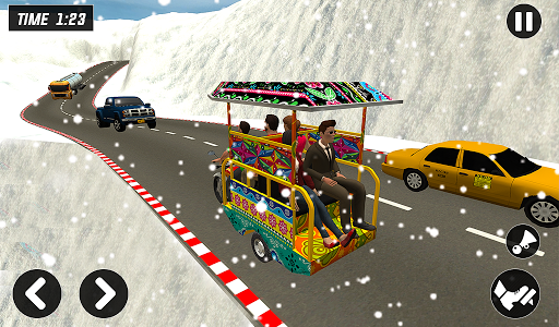 Chingchi Rickshaw Game:Tuk Tuk Parking Simulator screenshots 9