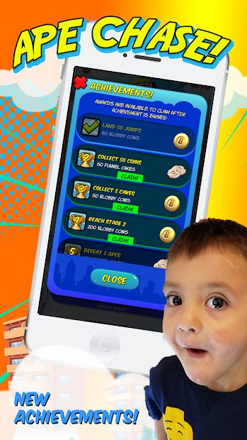 Captura de Pantalla 7 de FGTeeV Ape Chase! para android