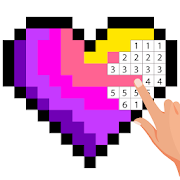 Pixel Art Color by number - Coloring Book Games