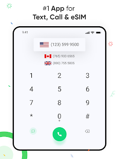 eSim Data + 2nd Phone Number. Virtual SIM Manager