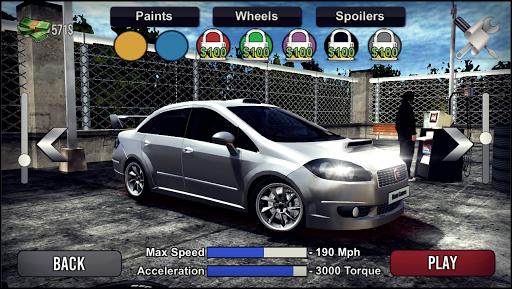 Linea Drift Driving Simulator  screenshots 1