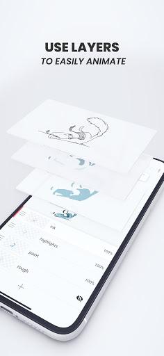 Flipaclip: Cartoon Animation Creator & Art Studio apktram screenshots 4