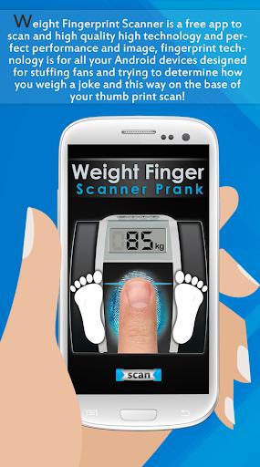 Weight Finger Scanner Prank 16.8.0 Screenshots 1