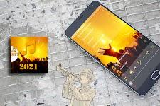screenshot of top 100 best ringtones 2021