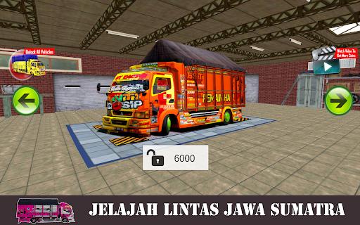 Truck Canter Simulator Indonesia 2021 - Anti Gosip apktreat screenshots 2