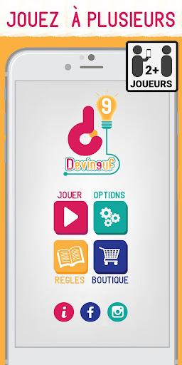 Devineuf Le jeu QUIZ de sociu00e9tu00e9 2.1.2 screenshots 1