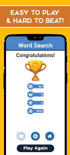 Word Search Puzzle - Free Word Games 1.4 Screenshots 6