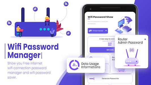 Wi-Fi Password Show: show save password 1.1