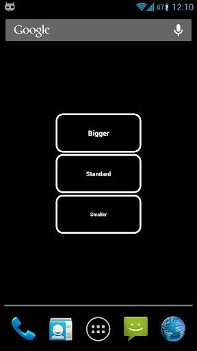 Big Font Widget ss3