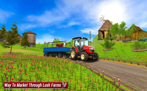 Drive Farming Tractor Cargo Simulator ud83dude9c 2021  screenshots 6