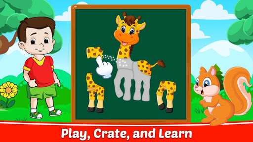 Toddler Puzzle Games - Jigsaw Puzzles for Kids android2mod screenshots 5