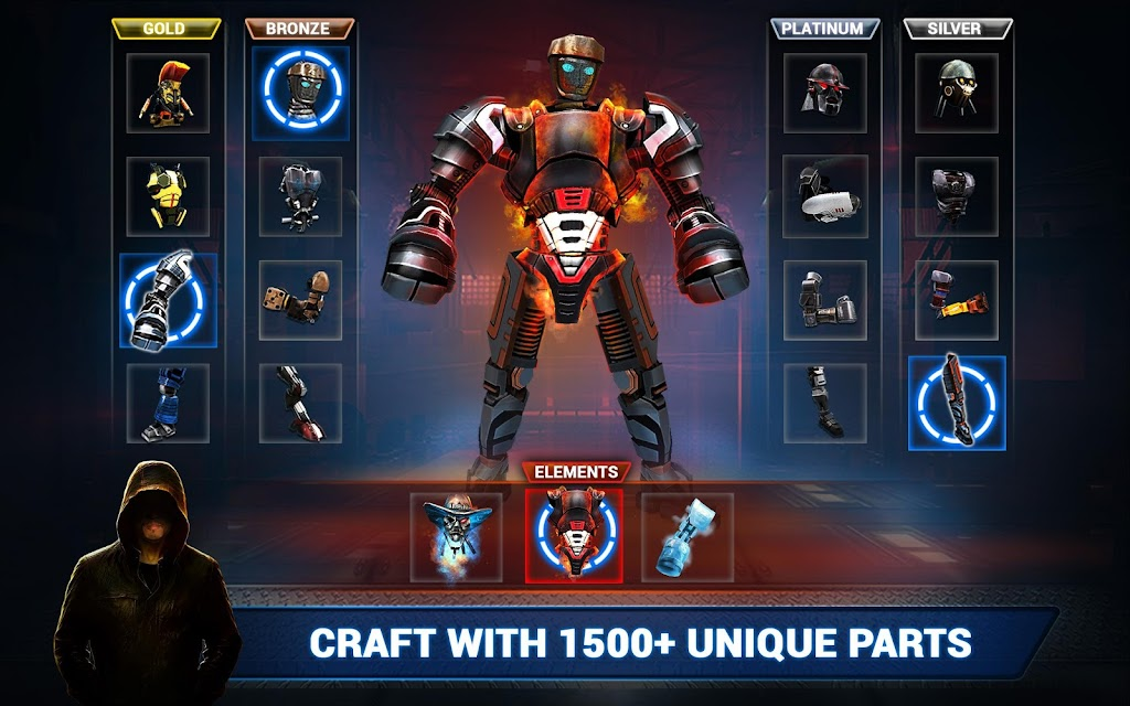 Real Steel Boxing Champions MOD poster 18