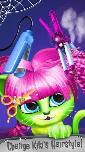 Kiki & Fifi Halloween Salon - Scary Pet Makeover  Screenshots 6