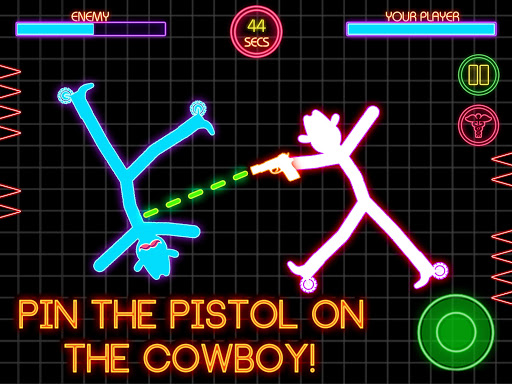 Stickman Fighting: 2 Player Funny Physics Games  screenshots 15
