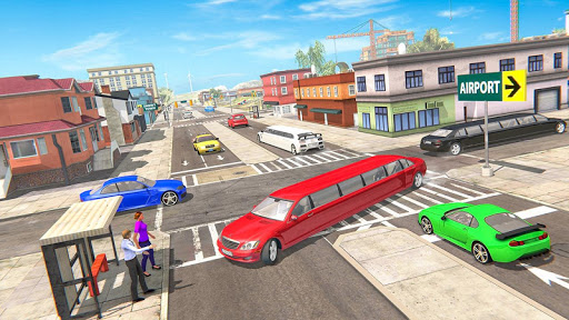 Limousine Taxi Driving Game android2mod screenshots 13