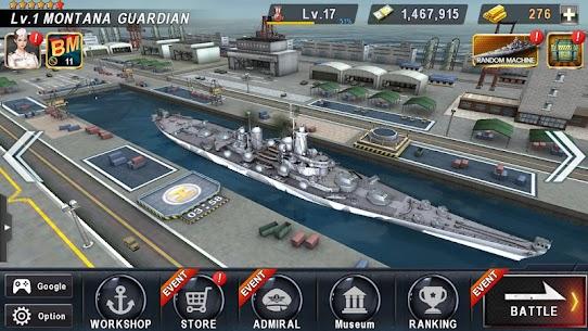 WARSHIP BATTLE 3D World War II Mod (Money) 3