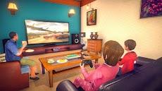 バーチャル 家族 パパ 生活 嬉しい 家族 シミュレーター 3Dのおすすめ画像3