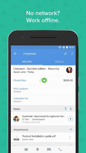 Zoho CRM - Sales & Marketing apktram screenshots 5