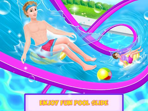 water slide ride fun park screenshot 1