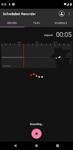 Scheduled Recorder (spy recorder)