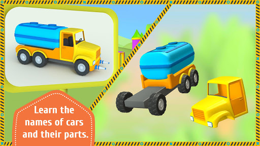 Leo the Truck and cars: Educational toys for kids 1.0.58 Screenshots 5
