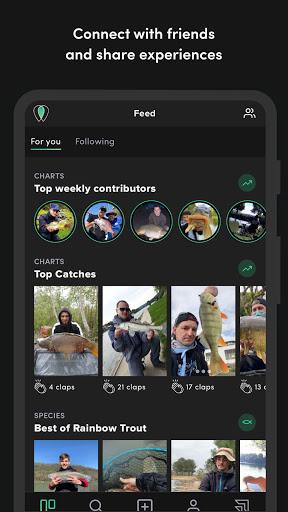FishFriender - Social Fishing Log screenshots 2