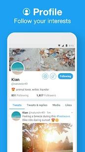 تحميل تويتر لايت للاندرويد APK احدث اصدار Twitter Lite 3