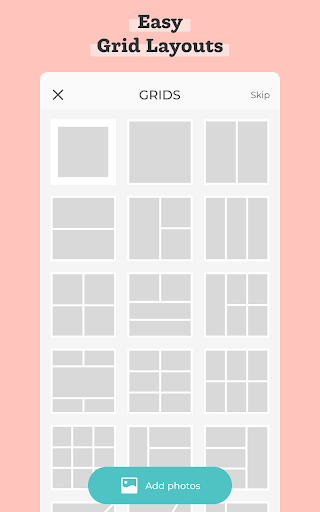 PicCollage - Grid, Greeting & Photo Collage Maker  Screenshots 3