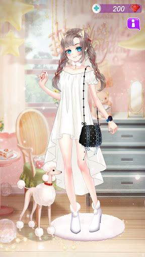 Anime Dress Up Queen Game for girls screenshots 4