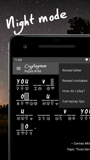Cryptogram - puzzle quotes  screenshots 4