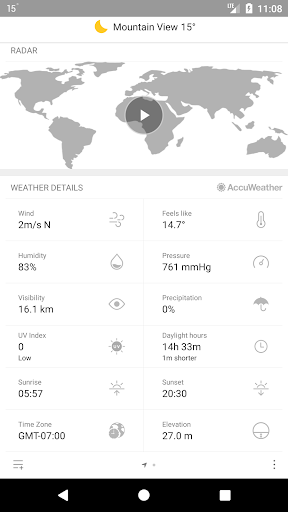 Weather Mate (Weather M8) 1.6.7 Screenshots 4