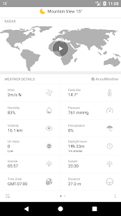 Weather Mate (Weather M8) Screenshot