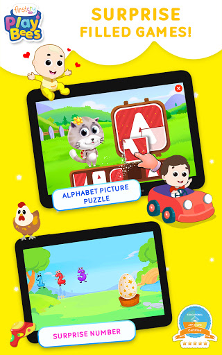 FirstCry PlayBees Play & Learn Kids and Baby Games 2.2 screenshots 8