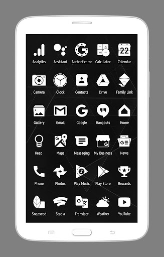 Whicons - White Icon Pack 21.2.0 Screenshots 7