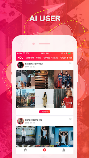 Real Followers Recommend for Instagram screenshots 3