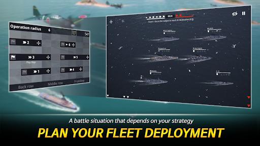 Warship Fleet Command : WW2 Naval War Game  screenshots 2