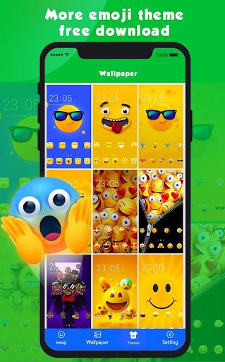 new emoji 2020 - wallpaper&gif&sticker for free screenshot 3