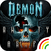 Dark Demon Keyboard Theme