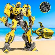 Robot Shark Transformer Angry Robot Game Warrior