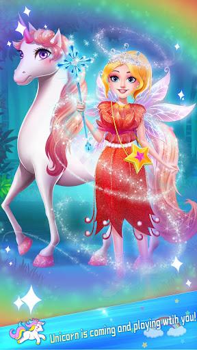 ud83dudc78Rainbow Princess & Unicorn Makeup - Fashion Trip 1.8.5038 screenshots 23