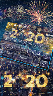 New Year 2020 Happy Keyboard