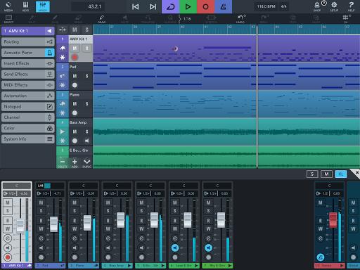 Cubasis LE 3 Trial - Music Studio and Audio Editor  Screenshots 7